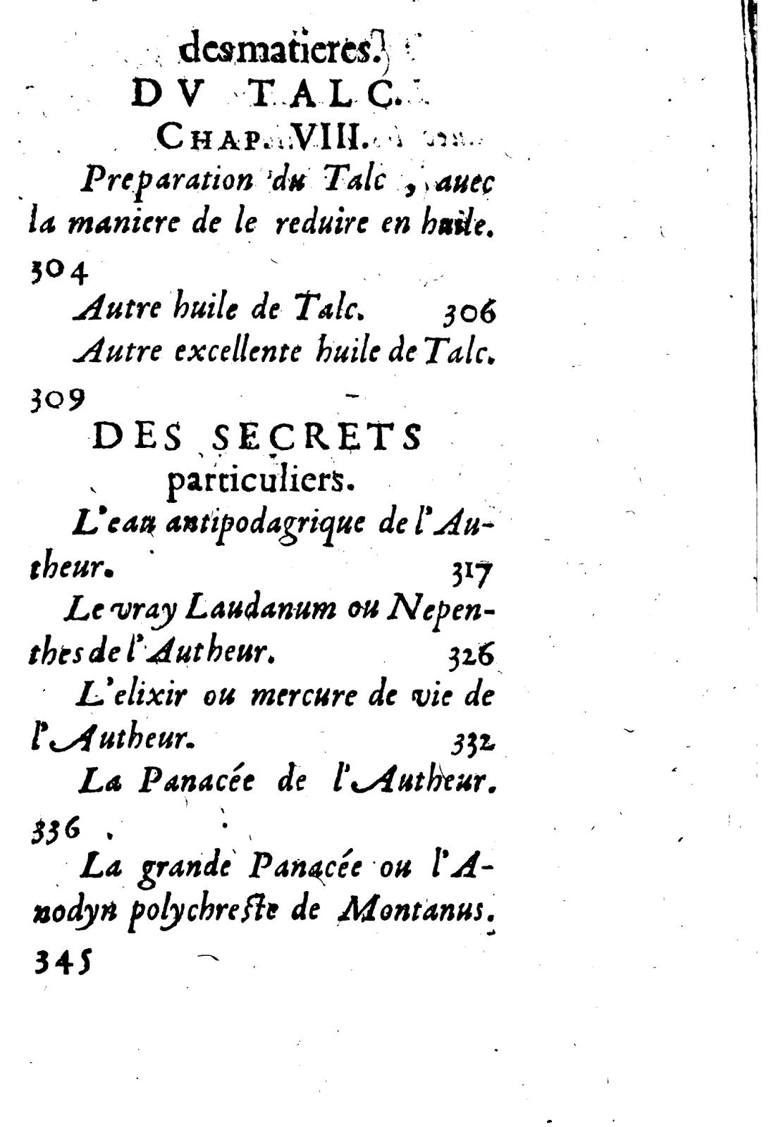 Le miroir alchimique joseph du chesne quercenatus for Miroir des secrets