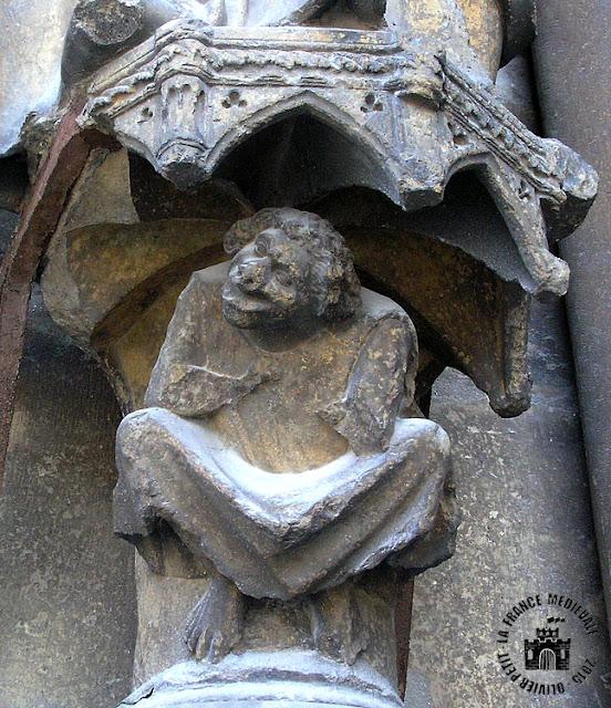 REIMS (51) - Cathédrale Notre-Dame (Extérieur - Façade occidentale)