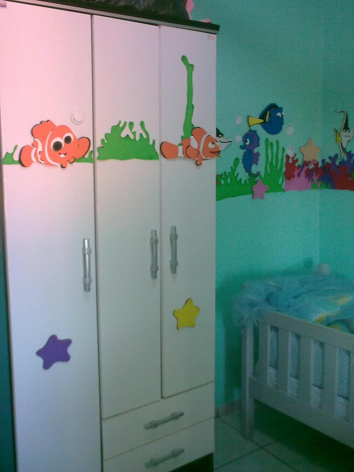 Enfeites Para Quarto De Bebe De Eva ~ Drykartes Enfeites feito de e v a para quarto de beb?
