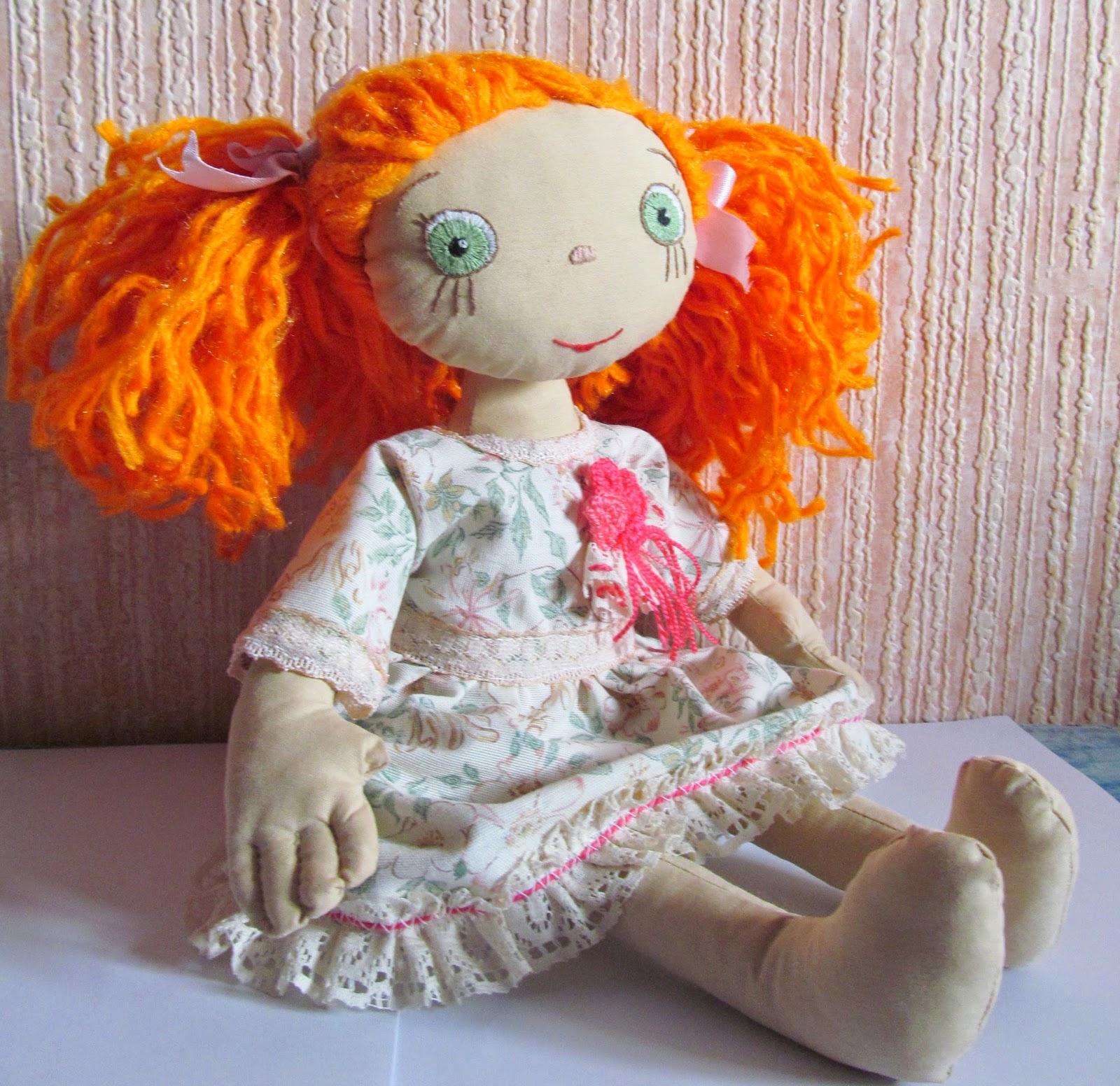 Сшить куклу из ниток