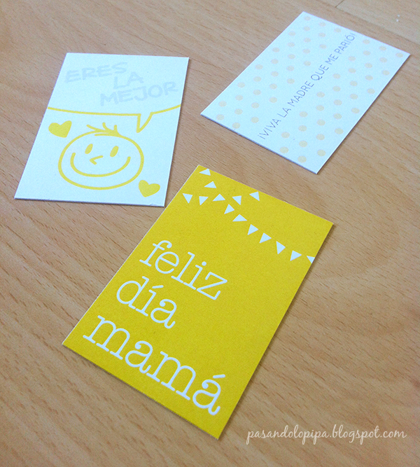 pasandolopipa: etiquetas día de la madre