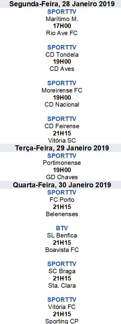 Liga Nós 2018-2019 19ºJornada