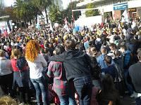 Huelga General Praza de América Vigo