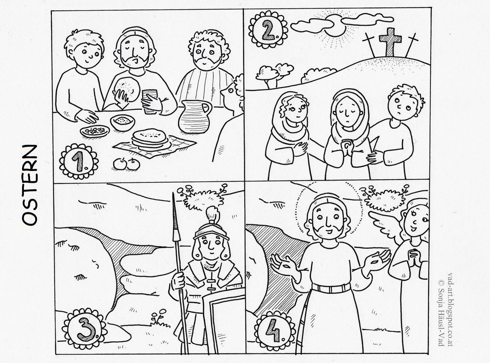 Malvorlagen Ostern Bibel | My blog