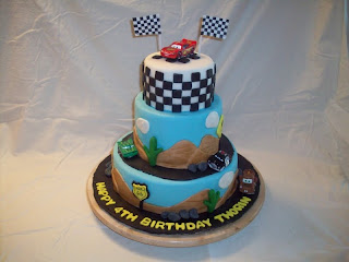 Beautiful Fondant Birthday Cakes For Boys