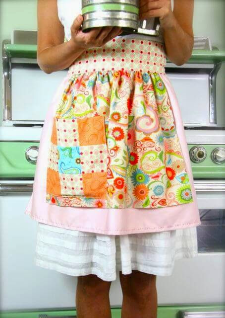 Stash Happy Patchwork Apron
