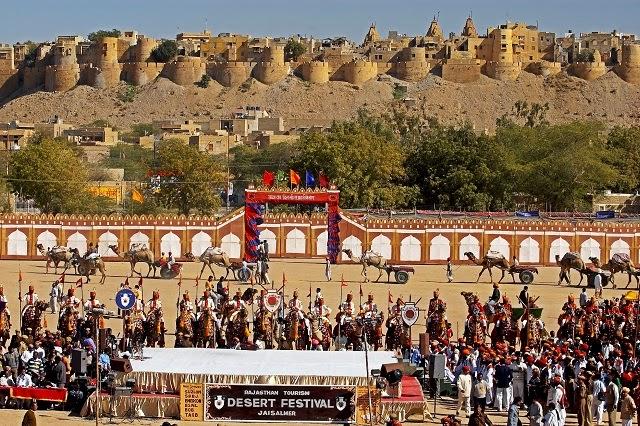 Maru Mahotsav in  Jaisalmer, Rajasthan