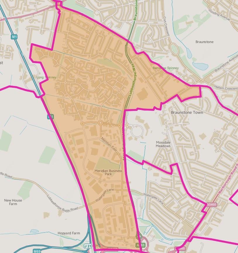 Winstanley Ward Map