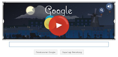 google doodle Claude Debussy's 151th birthday