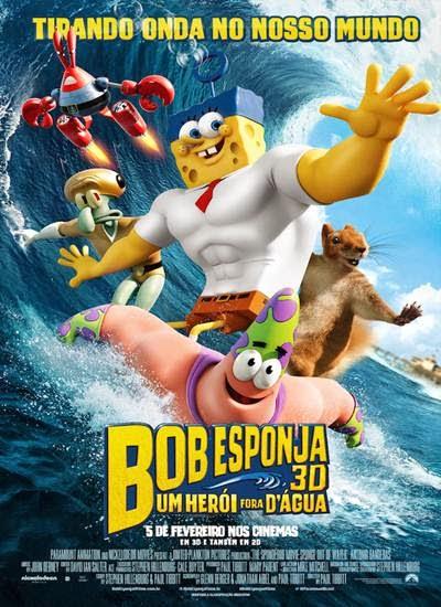 Download Bob Esponja Um Herói Fora D'Água AVI + RMVB Dublado Torrent