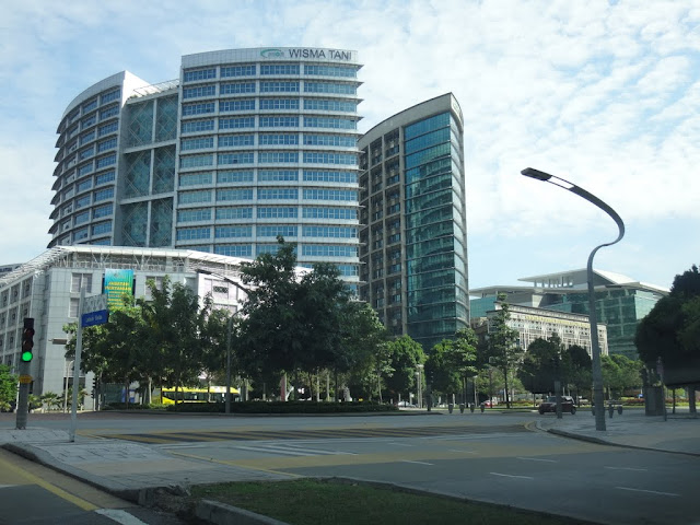 Wisma Tani or Ministry of Agriculture and Agro-Based Industry in Putrajaya, Malaysia