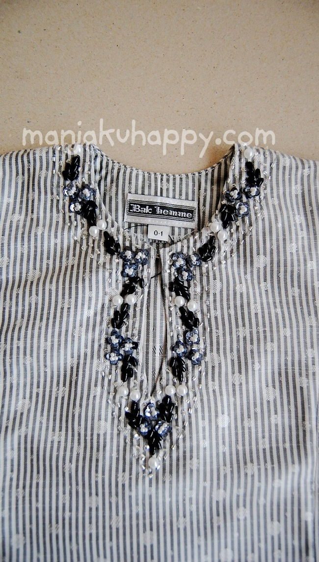 ... untuk bayi dan kanak-kanak Raya 2011 (Code: BK7e, Warna: Kelabu Putih