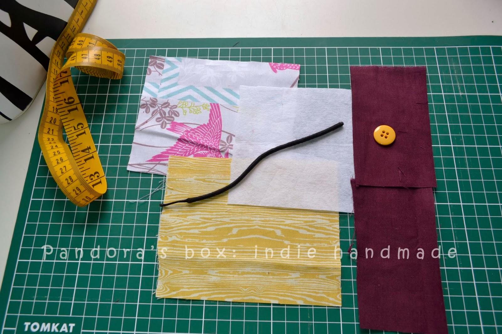 Pandoras box indie handmade easy business card holder tutorial in business card holder tutorial colourmoves