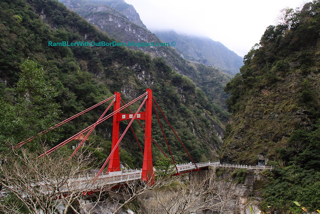 Cimu Bridge, Taroko National Park, Taiwan