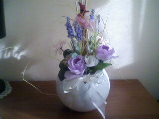 Dal niente a tutto oggettistica composizioni floreali for Composizioni natalizie in vasi di vetro