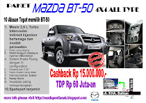 Spesial Offer BT-50 4x4 All Type
