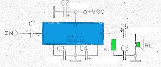 2,5W amplifier