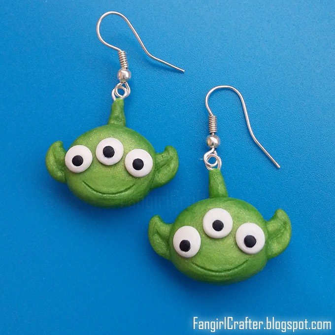 Tsum Tsum aliens from Toy Story earrings