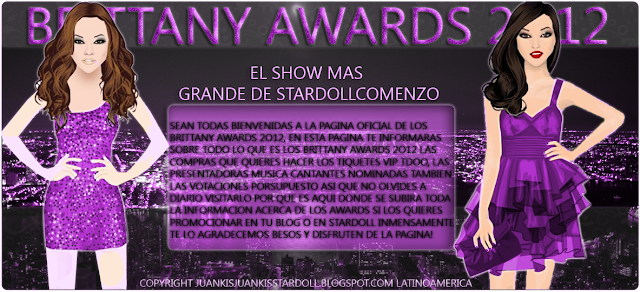 BRITANY AWARDS 2012