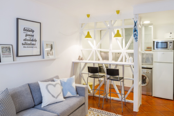 Arredare piccoli spazi cucina soggiorno idea creativa for Progettare gli interni di casa