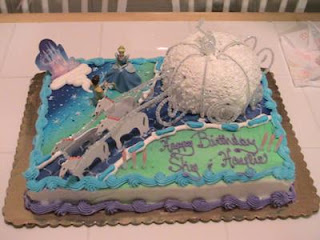 Cinderella Cakes for Children Parties