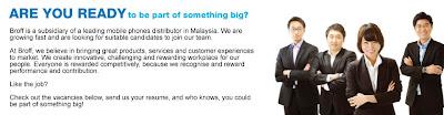 Jawatan Kosong Broff Technology (M) Sdn Bhd (Account Manager) - 06 Februari 2013