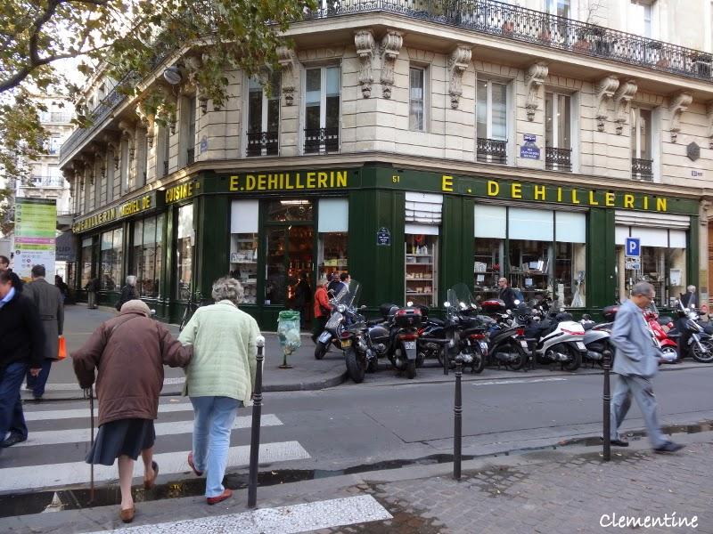 Le blog de clementine paris octobre 2013 centre pompidou et ustensiles de cuisine chez dehillerin - Magasin ustensile cuisine paris ...