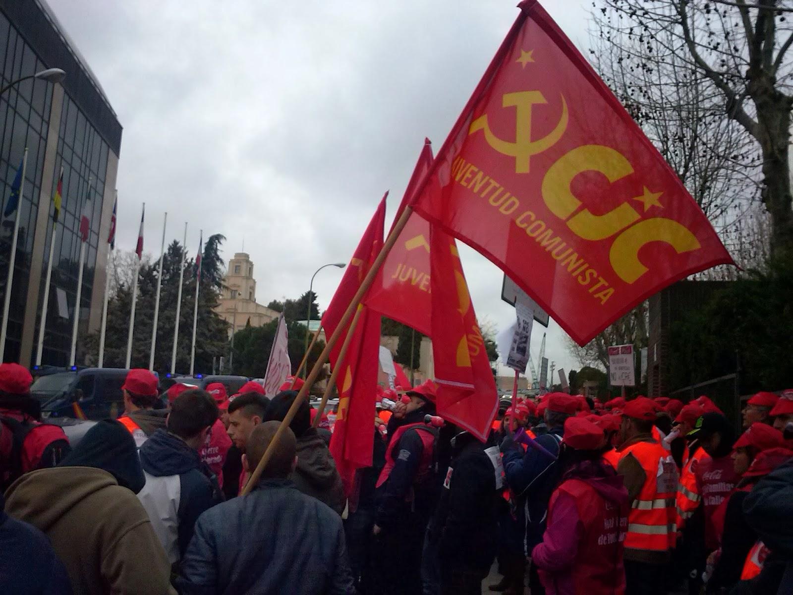 [PCPE y CJC] En CocaCola el puesto de trabajo no se vende, ¡se defiende! COCA4