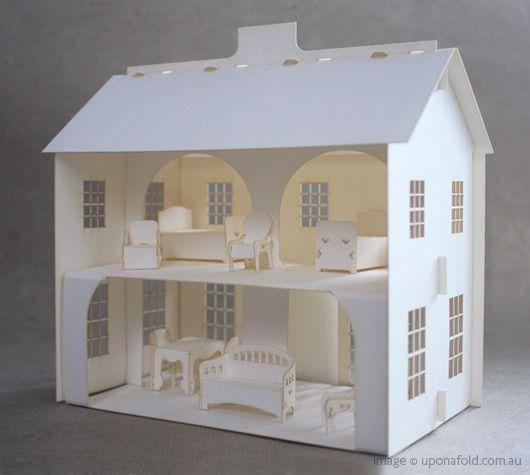 Макет дома своими руками из картона для детей