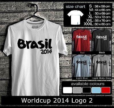 kaos distro world cup 2014 logo 2