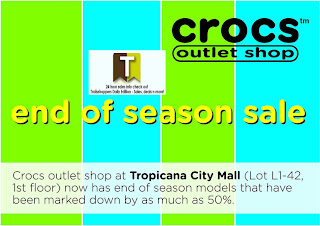 Crocs End of Season Sale Marked Down 2012