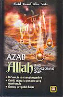 toko buku rahma: buku azab allah bagi orang-orang zalim, pengarang said yusuf abu azir, penerbit pustaka setia