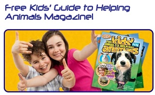 Image: Free PETA Kids' Guide to Helping Animals Magazine