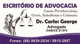 Dr. Carlos George - Advogado