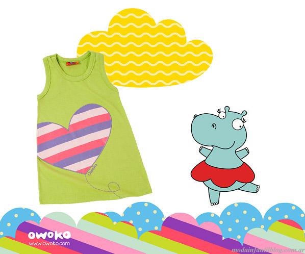 owoko 2014 moda infantil para niñas