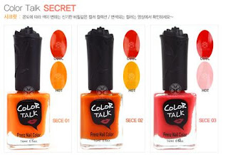 Frenznail Color Talk Secret!