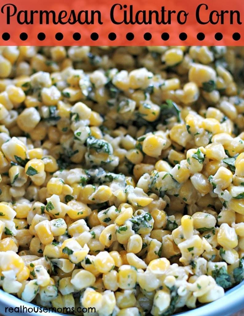 parmesan cilantro corn chipotle lime corn on the cob summer