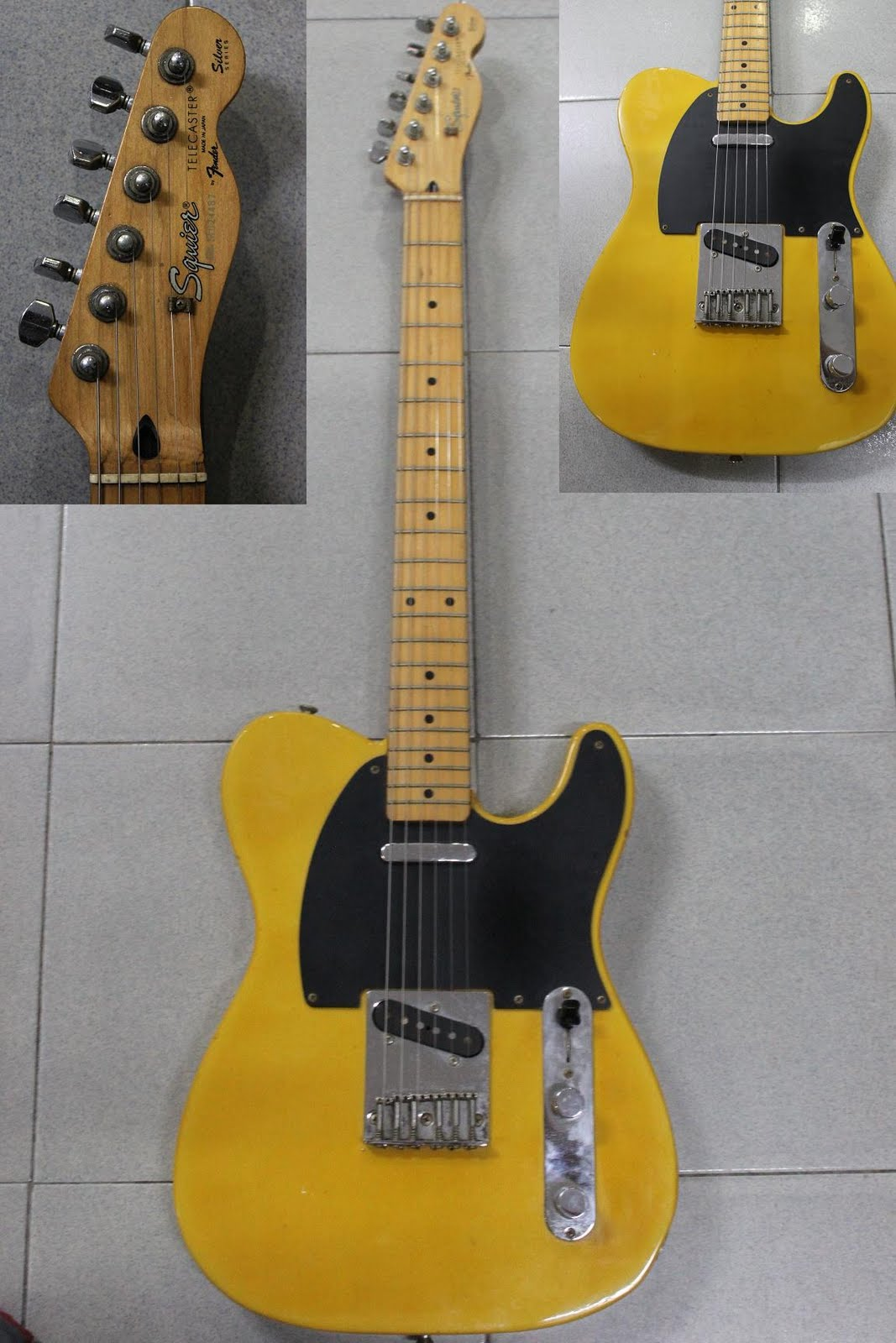 fender telecaster neck dating