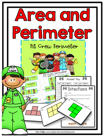 Area and Perimeter Game