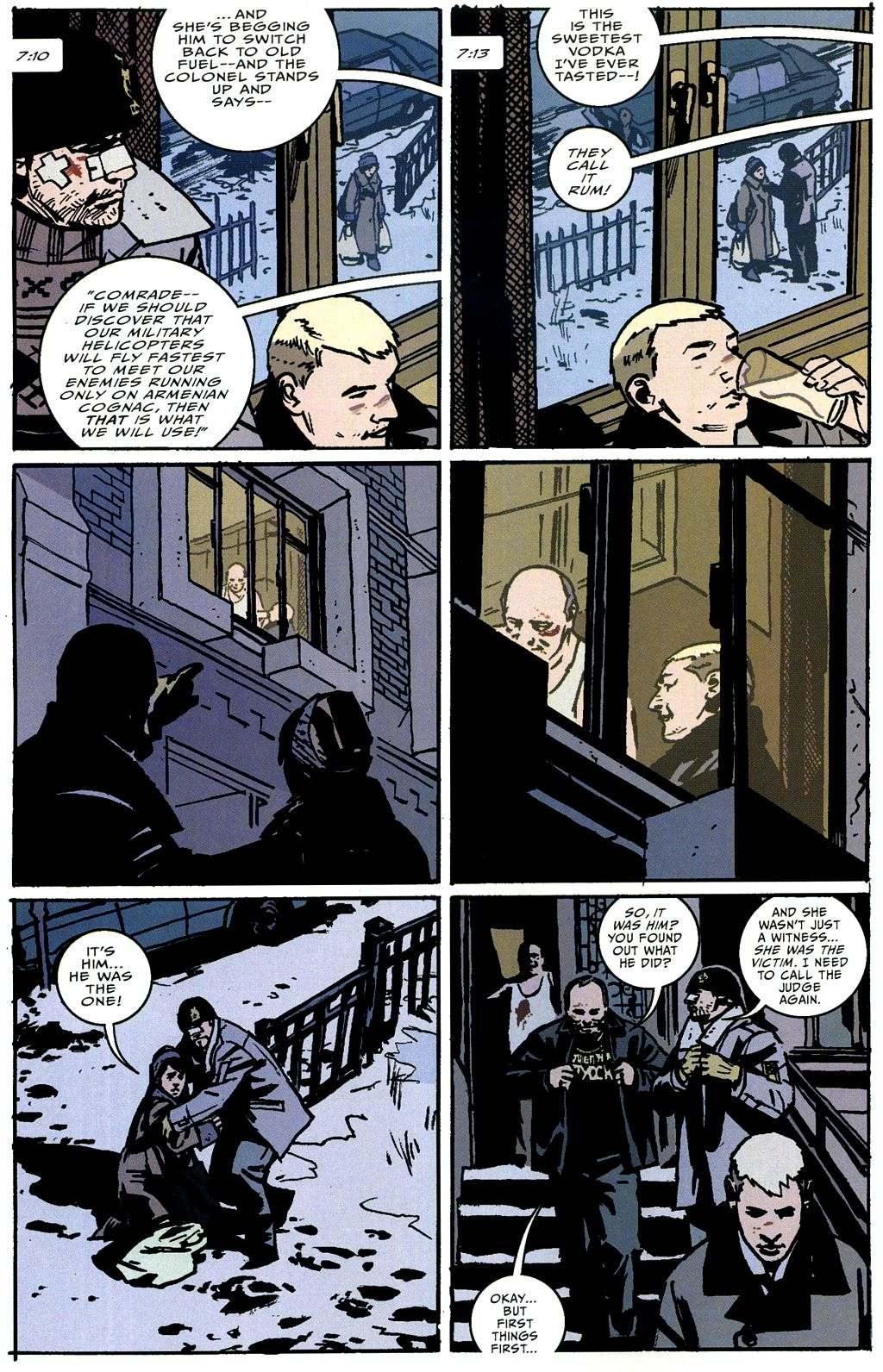 Read online The Winter Men comic -  Issue #4 - 19
