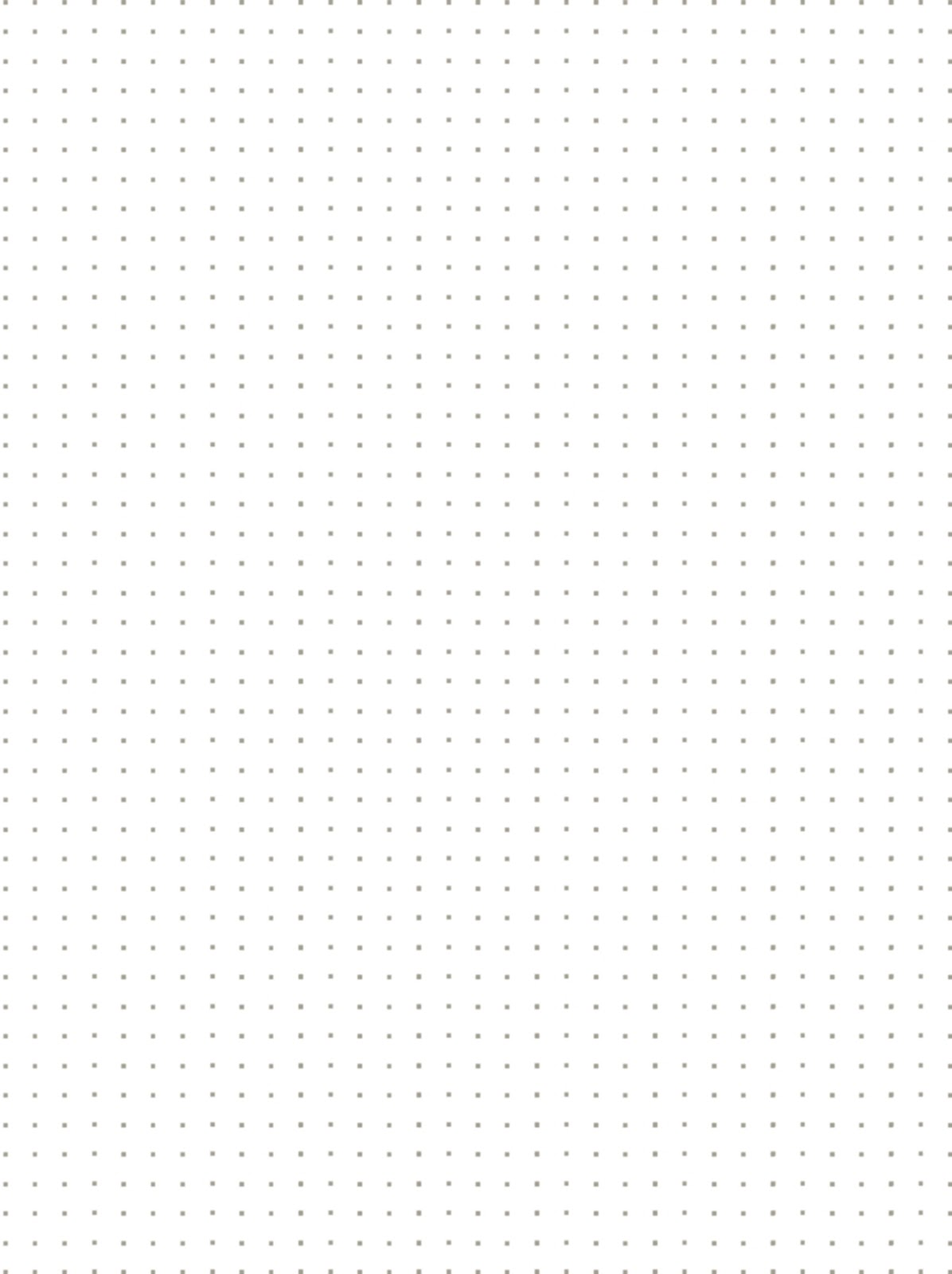 dotted paper Dot grid notebooks provide the utility of a graph notebook with a cleaner appearance than either graph or lined pages.