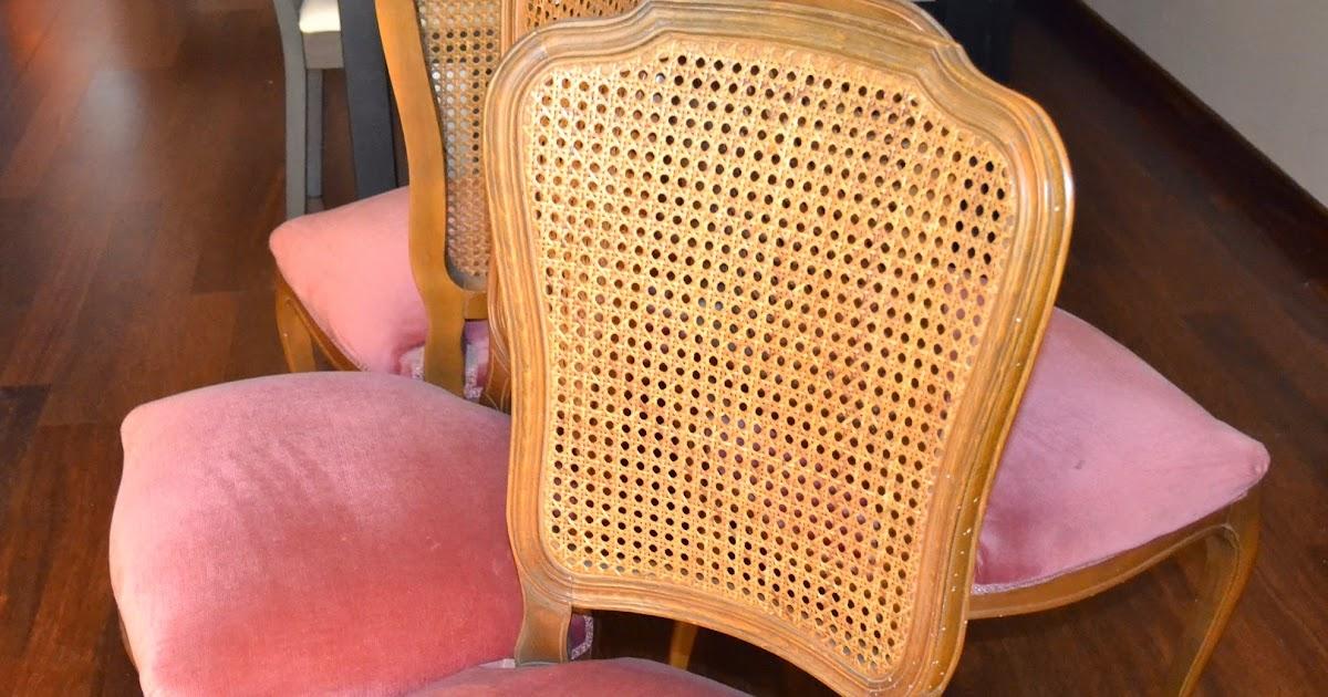 Taller de restauraci n lila sillas a os 60 restauradas - Sillas anos 60 ...