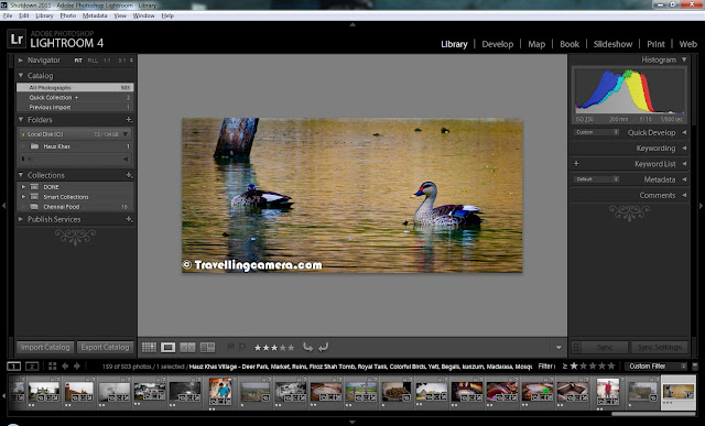 I am sure that Lightroom needs to introduction and very much sure that you must have information about latest release of Adobe Photoshop Lightroom 4. Today we are going to discuss some of the main features of Lightroom and to be specific- 5 Top features. Apart from Top 5 from my point of view, we shall also look at detailed list of new features offered in 4th version of Adobe Photoshop Lightroom.Before jumping on to TOP Features, let's have a quick look at New features Highlighted by Adobe on their official Website -1. Highlight and shadow recovery brings out all the detail that your camera captures in dark shadows and bright highlights    2. Photo book creation with easy-to-use elegant templates   3. Location-based organization lets you find and group images by location, assign locations to images, and display data from GPS-enabled cameras    4. White balance brush to refine and adjust white balance in specific areas of your images   5. Additional local editing controls let you adjust noise reduction and remove moiré in targeted areas of your image   6. Extended video support for organizing, viewing, and making adjustments and edits to video cli    7. Easy video publishing lets you edit and share video clips on Facebook and Flickr®  8. Soft proofing to preview how an image will look when printed with color-managed printe   9. Email directly from Lightroom using the email account of your choiceNow let's have a look at some basic changes you will immediately notice in 4th version of Adobe Photoshop Lightroom.Now you see 7 rooms instead of 5 we had in 3rd version of Lightroom. In 4th release two extra rooms for MAP and BOOK are added. We shall discuss these two rooms in Detai The most popular room among Photographers, Develop Room, has some new/modified Basic Controls as shown in the image below. You must have noticed that Fill-Light, Brightness and Recovery are missing. But don't worry, it's just a matter of improved naming convention with enhanced/easy capability of