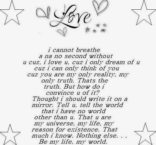 Poems About Life And Love