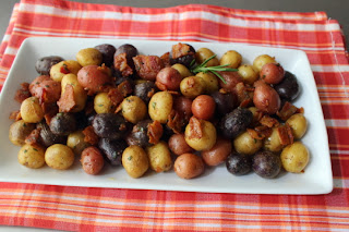 Pan-Roasted Marble Potatoes Miela Tahril