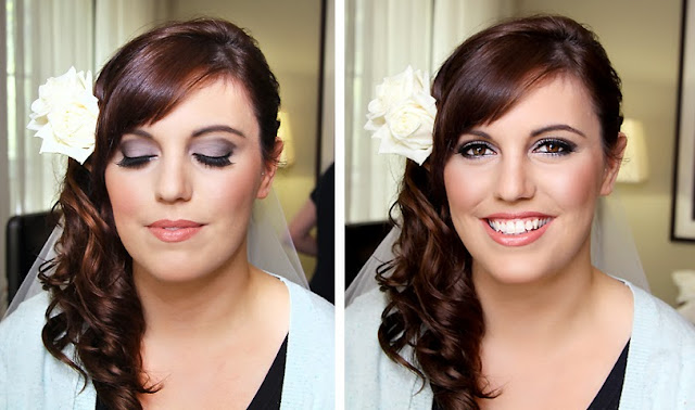 Smokey Eyes, wedding makeup ideas