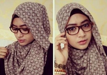 Contoh 1. Model dan Kreasi Hijab Paris Modern Terbaru 2015 image