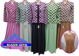 model dari blazer untuk wanita muslimah di jual murah