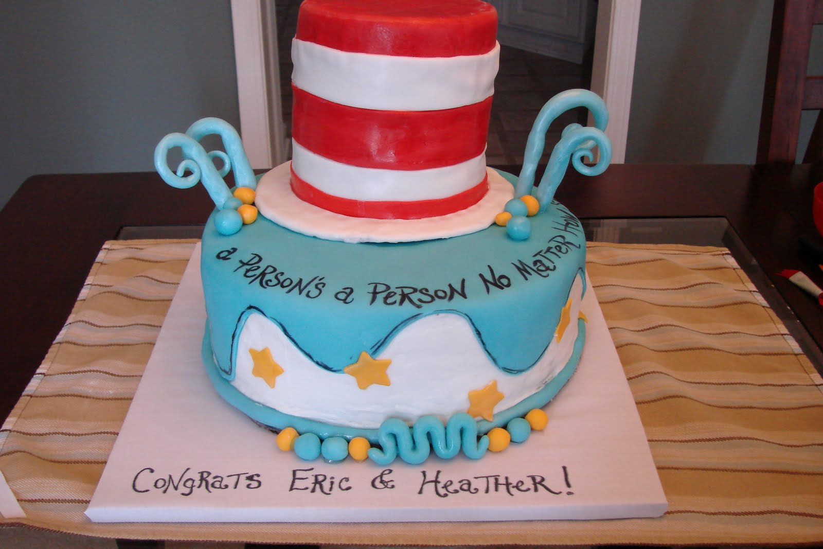 cakes by katie wagoner dr seuss baby cake