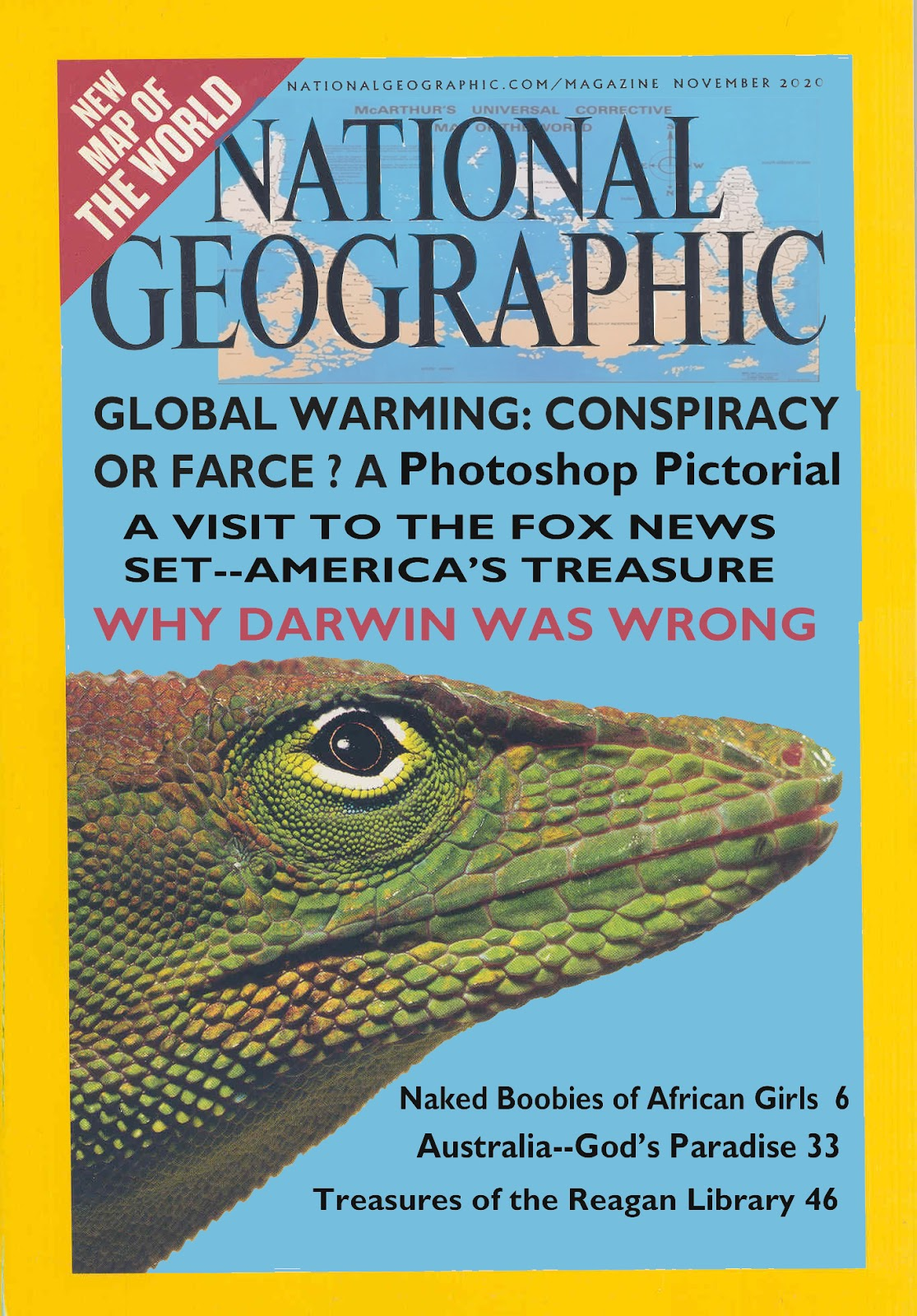 Rupert Murdoch Buys Out National Geographic For 725M